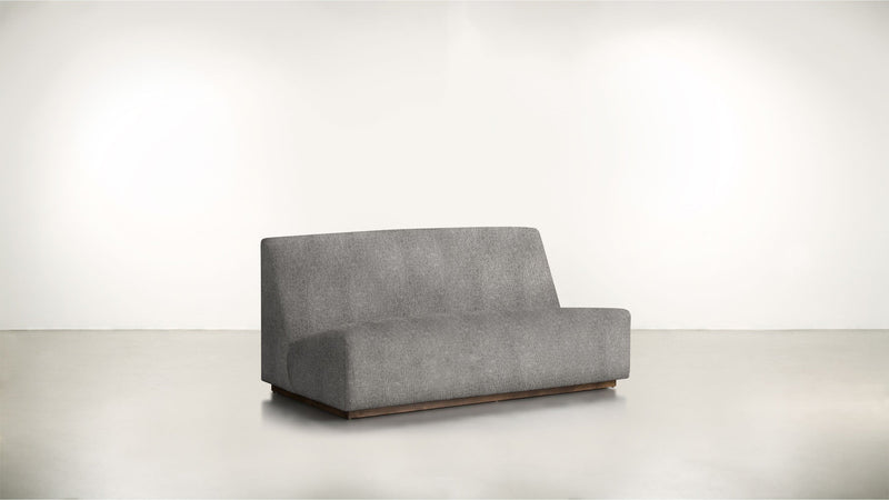 The Rebel Sofa 6' Sofa Structured Linen Weave Steel / Hazel Whom. Home