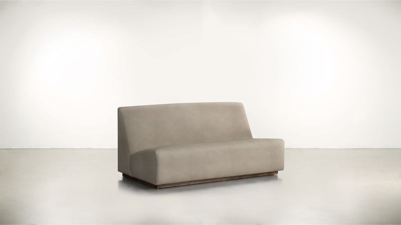 The Rebel Sofa 6' Sofa Structured Velvet Biscotti / Hazel Whom. Home