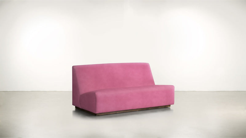 The Rebel Sofa 6' Sofa Structured Velvet Flamingo / Hazel Whom. Home