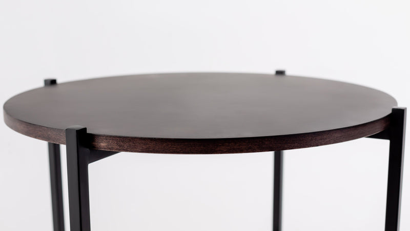 The Sentinel Short Side Table Short Side Table  Whom. Home