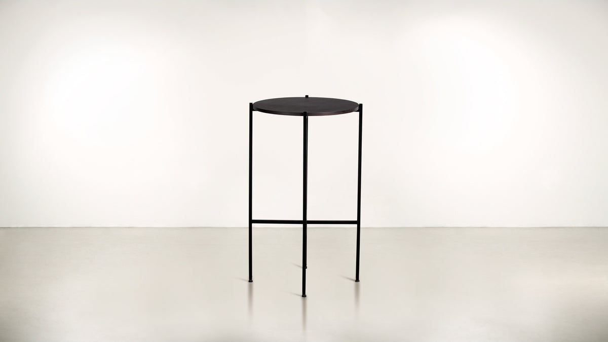 The Sentinel Tall Side Table  Whom. Home