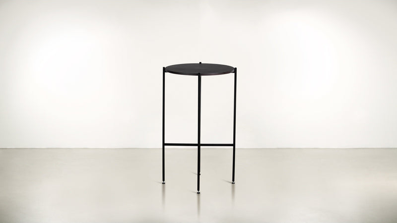 The Sentinel Tall Side Table Tall Side Table  Whom. Home