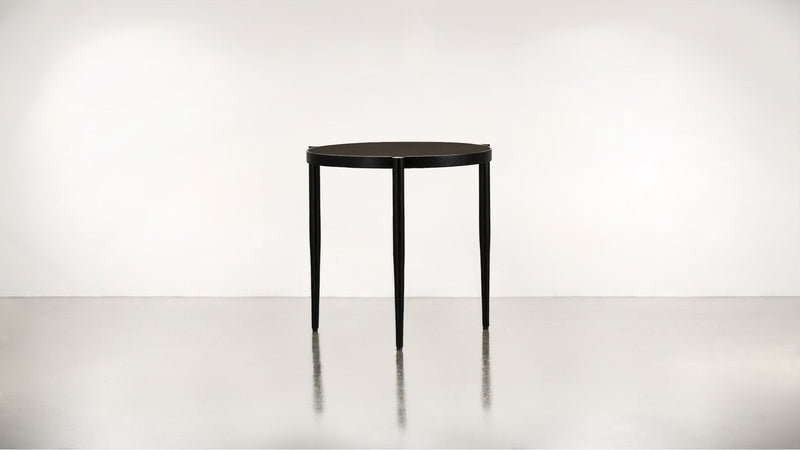 The Sidekick Side Table Side Table Chocolate / Black Whom. Home