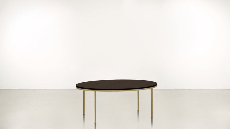 The Specialist Coffee Table Coffee Table Chocolate / Brass Whom. Home