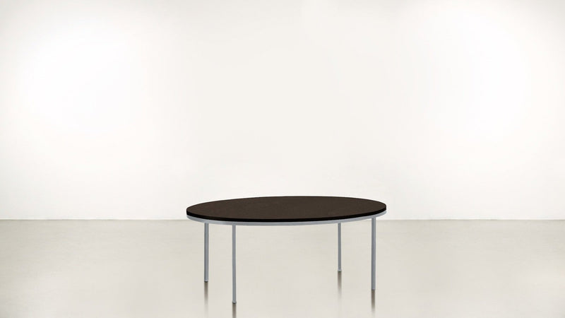 The Specialist Coffee Table Coffee Table Chocolate / Silver Whom. Home