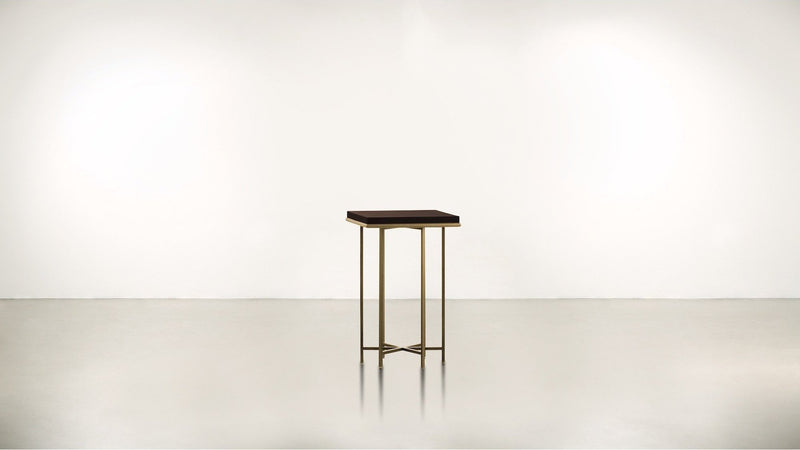 The Spiritualist Side Table Side Table Brass / Chocolate Whom. Home