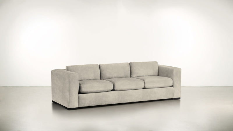 The Stylist Sofa 6' Sofa Structured Velvet Divine / Blackw Whom. Home