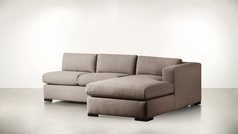 The Stylist R Modular Sectional R Modular Sectional Classic Linen Weave Mink / Blackw Whom. Home