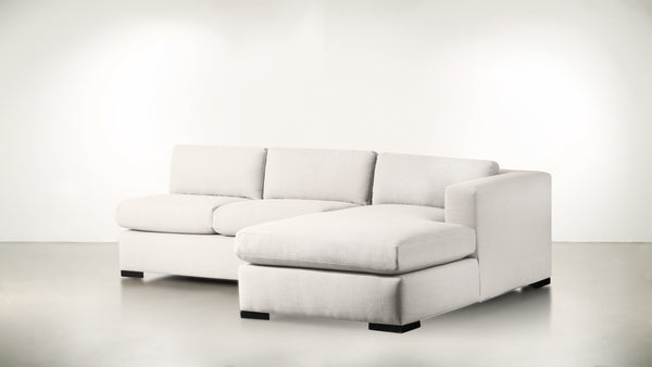 The Stylist R Modular Sectional R Modular Sectional Classic Linen Weave Oatmeal / Blackw Whom. Home