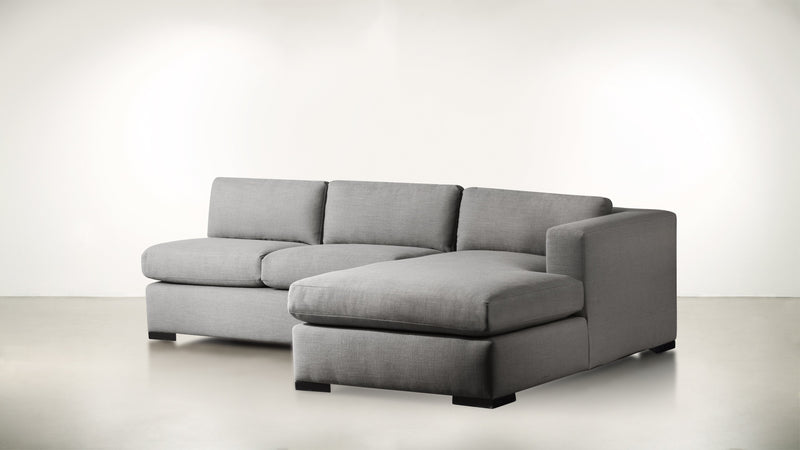 The Stylist R Modular Sectional R Modular Sectional Classic Linen Weave Smoke / Blackw Whom. Home