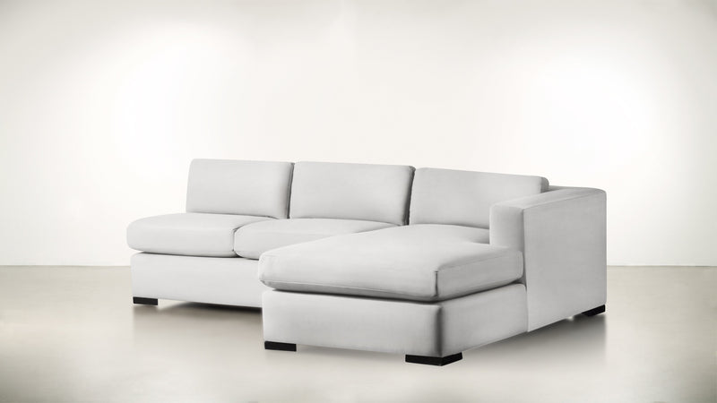 The Stylist R Modular Sectional R Modular Sectional Structured Velvet Divine / Blackw Whom. Home