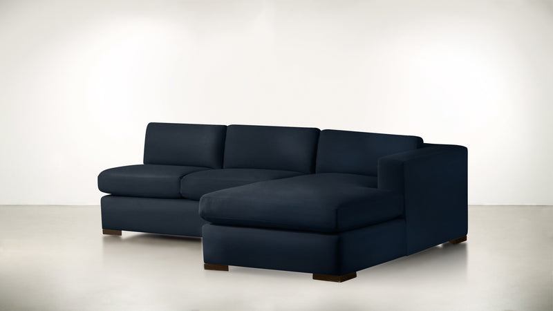 The Stylist R Modular Sectional R Modular Sectional Structured Velvet Eclipse / Chocolate Whom. Home