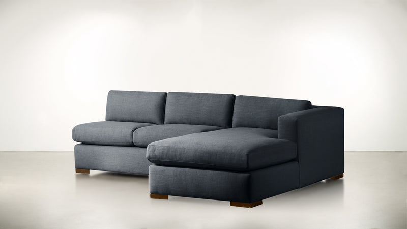 The Stylist R Modular Sectional R Modular Sectional Classic Linen Weave Navy / Hazel Whom. Home