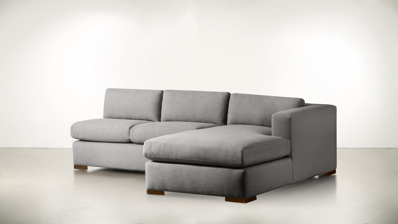 The Stylist R Modular Sectional R Modular Sectional Classic Linen Weave Smoke / Hazel Whom. Home