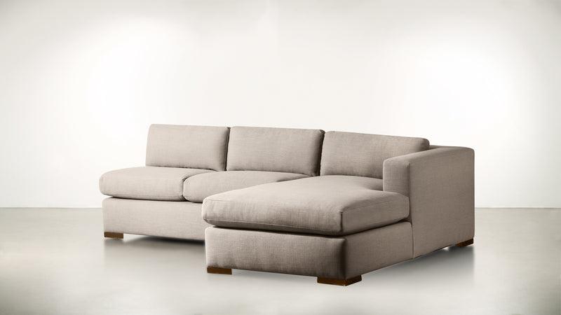 The Stylist R Modular Sectional R Modular Sectional Structured Linen Weave Sand / Hazel Whom. Home