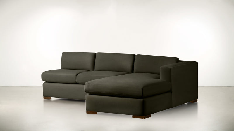 The Stylist R Modular Sectional R Modular Sectional Structured Velvet Malachite / Hazel Whom. Home
