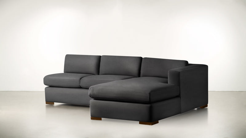 The Stylist R Modular Sectional R Modular Sectional Structured Velvet Sterling / Hazel Whom. Home