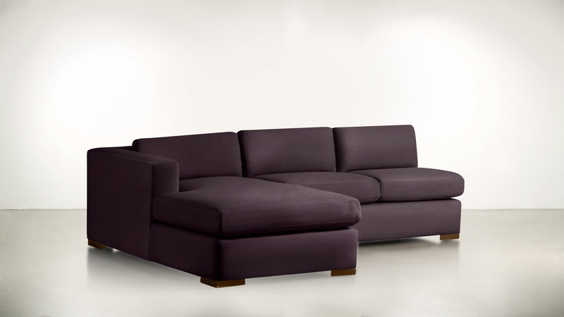 The Stylist R Modular Sectional R Modular Sectional Structured Velvet Vineyard / Hazel Whom. Home