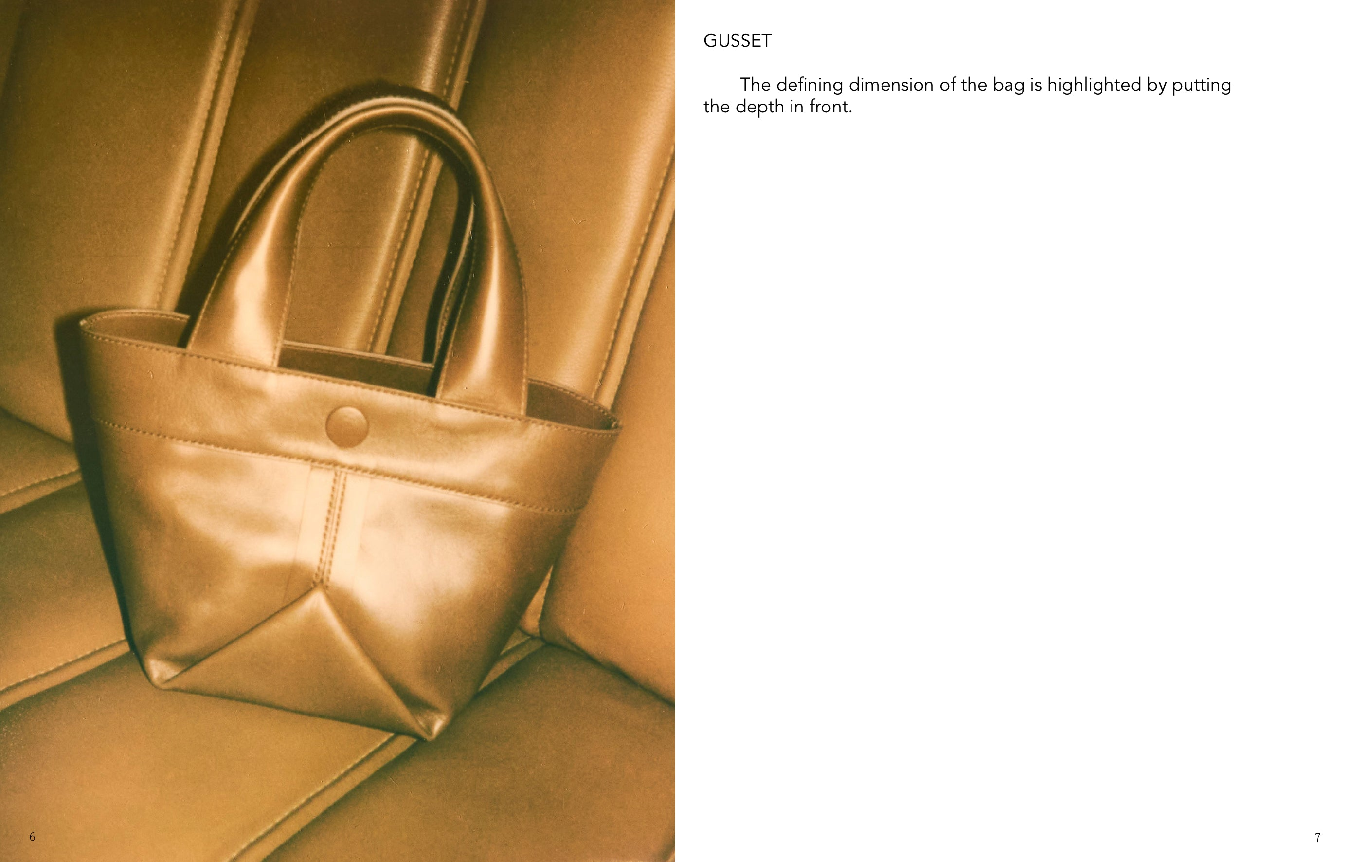 ro bags EVERYDAY Gusset Small Leather Basket Bag in chestnut