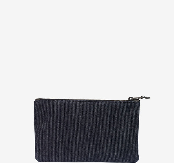 ro SAVANNA Zip Flat Pouch | Urban Leather Bags & Accessories | robags.com