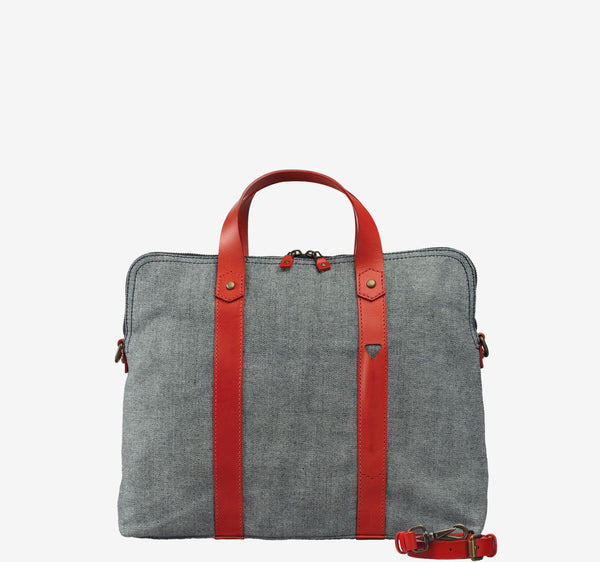 ro G Reverse Briefcase | Urban Leather Bags & Accessories | robags.com
