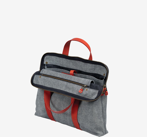 ro G Reverse Briefcase | Urban Leather Goods & Accessories | robags.com