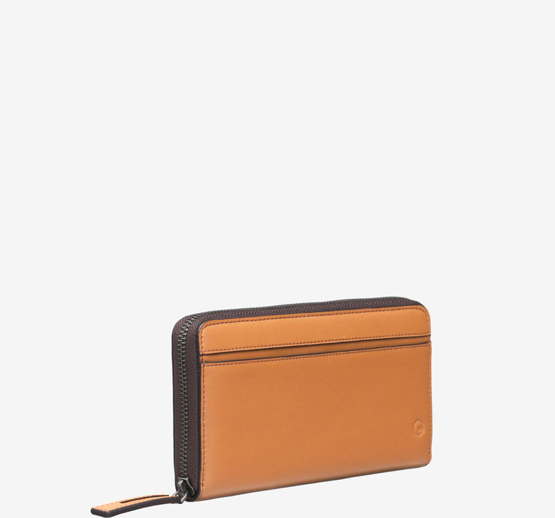 ro Indus Zip Wallet | Urban Leather Bags & Accessories | robags.com