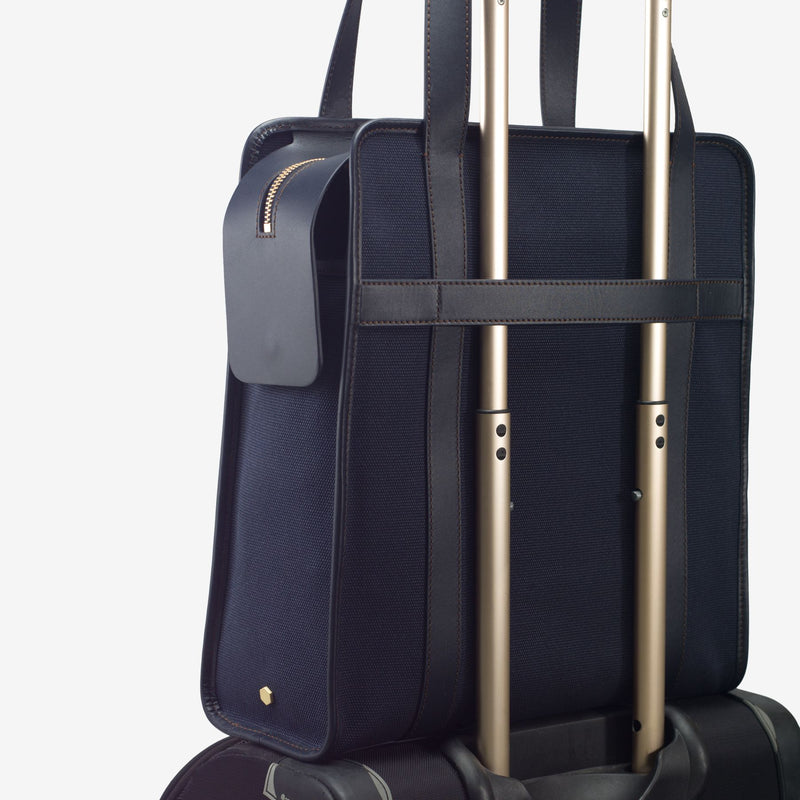ro 24h Vertical Briefcase | Urban Leather Goods & Accessories | robags.com
