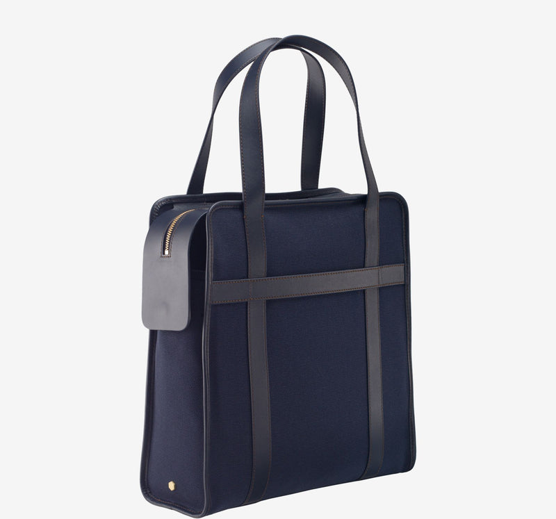ro 24h Vertical Briefcase | Urban Leather Bags & Accessories | robags.com