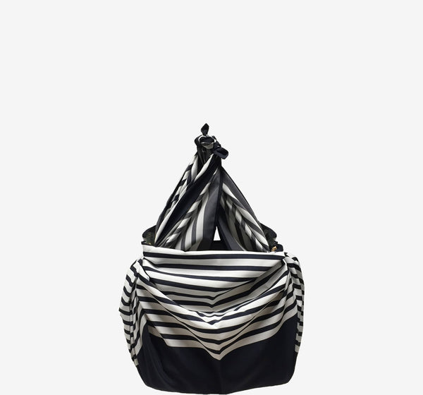 Galleon Straw Small Bucket Bag
