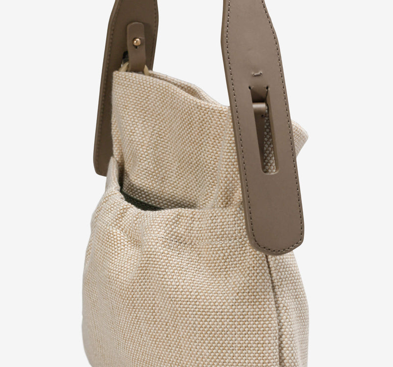 Rhea Fabric Small Hobo