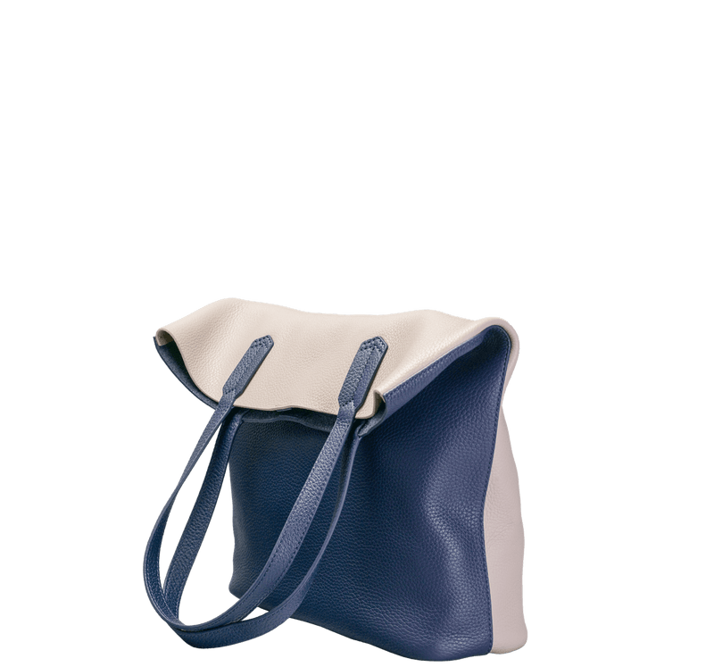 ro Anchorage North-South Tote (two-tone) | Urban Leather Bags & Accessories | robags.com