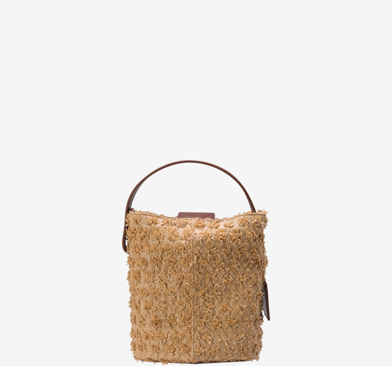 ro Felucca Rafia Mini Bucket Bag | Urban Leather Bags & Accessories | robags.com