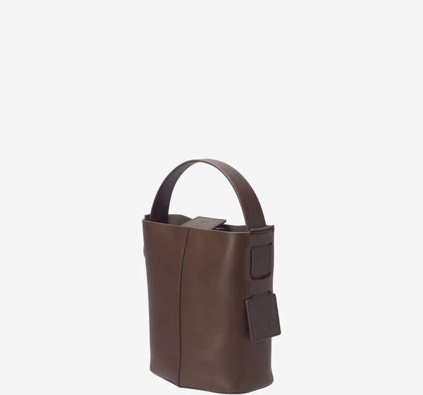 Felucca Mini Bucket Bag - Leather Top Handle