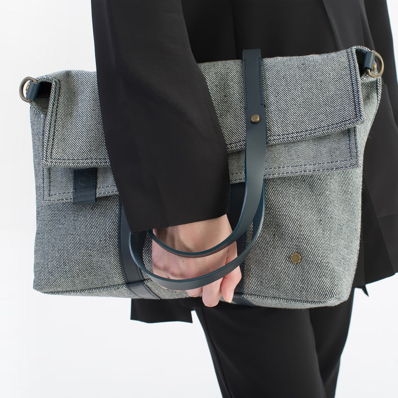 ro Stanton Reverse Tote | Urban Leather Bags & Accessories | robags.com