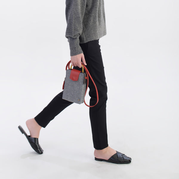 ro Hoy Reverse Crossbody | Urban Leather Bags & Accessories | robags.com
