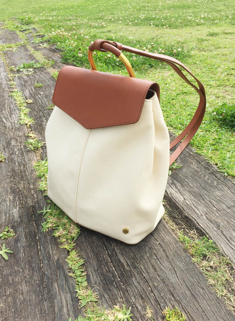 ro Brigantine Canvas Backpack | Urban Leather Bags & Accessories | robags.com