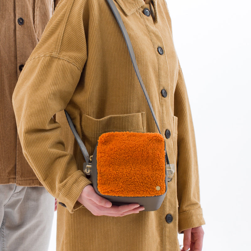 ro Shearling Mini Cube | Urban Leather Goods & Accessories | robags.com