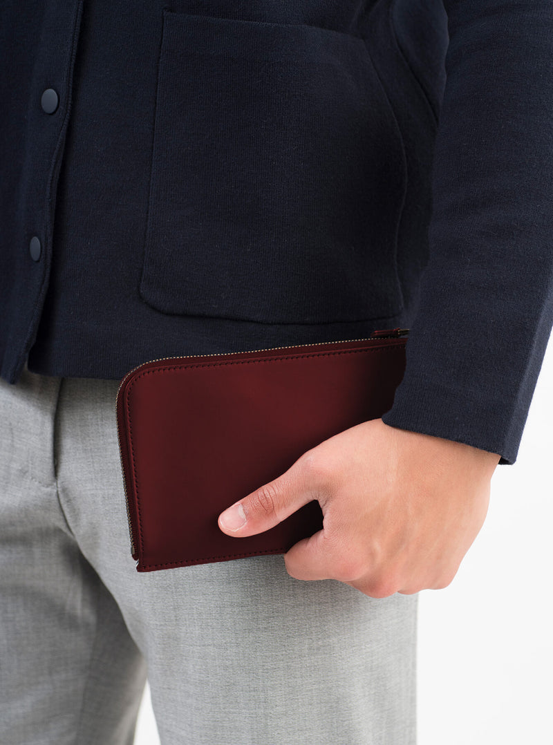 ro Monocoque Zip Travel Wallet | Urban Leather Bags & Accessories | robags.com