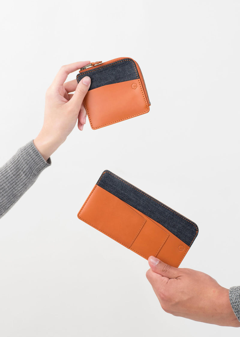 ro Bonnet Zip Wallet | Urban Leather Bags & Accessories | robags.com
