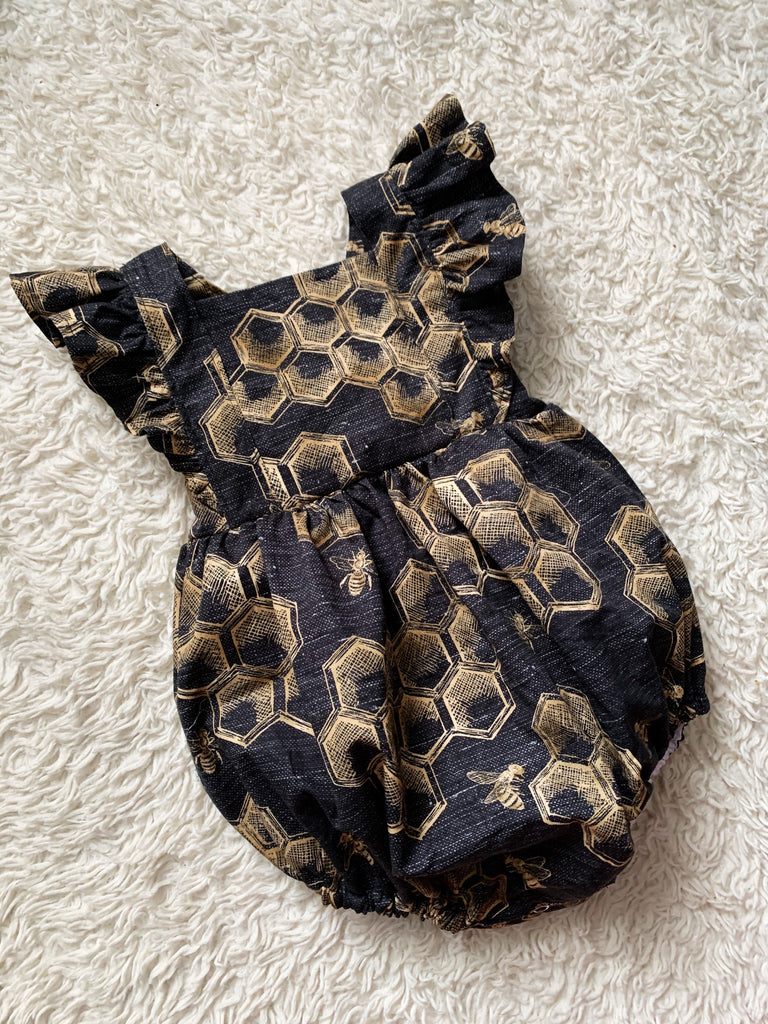 Ruffle Bubble Romper