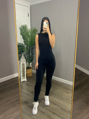 Selene Jumpsuit - Black
