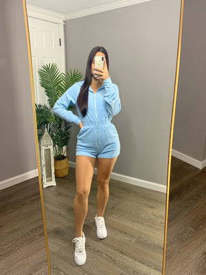 Angelina Romper - Baby Blue