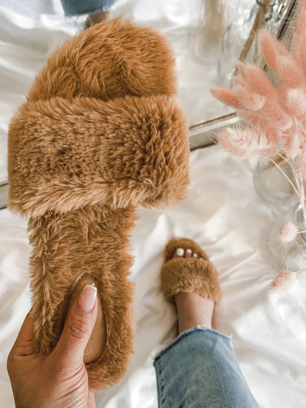 Teddy Slippers