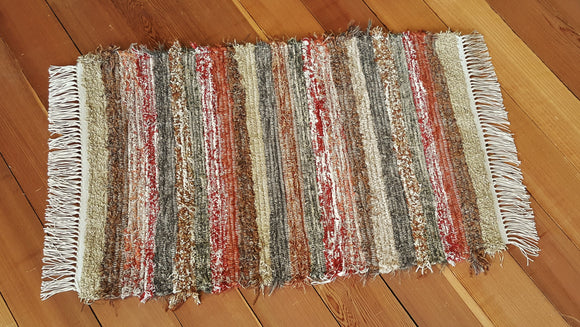 "Kitchen, Bedroom, Bathroom or Door Entry Rug - 24"" x 37"" Burnt Orange"