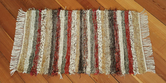 "Kitchen, Bedroom, Bathroom or Door Entry Rug - 24"" x 41"" Burnt Orange"