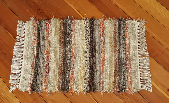 "Kitchen, Bedroom, Bathroom or Door Entry Rug - 24"" x 36"" Burnt Orange"