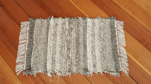 "Kitchen, Bathroom or Door Entry Rug - 20"" x 30"" Gray, Tan & Oatmeal"