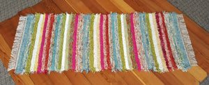 "Kitchen, Bathroom or Hallway Runner Rug - 28"" x 67"" Confetti"