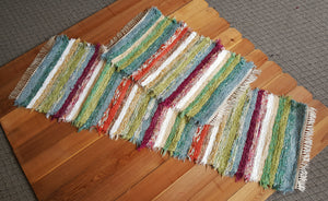 "Kitchen Runner & Medium Rug Set - 28"" x  6'4"" & 24"" X 36"" Confetti"